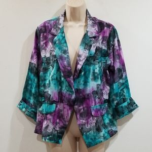 Hp🕺💃Pretty Rebellious women's multi color blazer